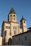 Abbotskloster av Cluny resterande klockatorn Fotografering för Bildbyråer