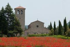 Abbotskloster av den forntida kloster för St vincent Royaltyfri Fotografi
