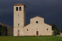 Abbotskloster av den forntida kloster för St vincent Arkivbilder