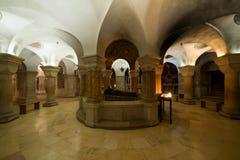 Abbotskloster av Dormitionen i Jerusalem Arkivfoto