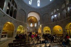 Abbotskloster av Dormitionen i Jerusalem Royaltyfria Bilder