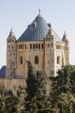 Abbotskloster av Dormitionen - Jerusalem Royaltyfri Bild