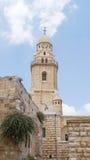 Abbotskloster av Dormitionen - Jerusalem Arkivbild
