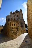 Abbotskloster av Dormitionen, Jerusalem Royaltyfria Bilder