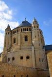 Abbotskloster av Dormitionen, Jerusalem Royaltyfria Foton