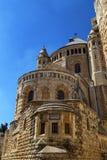 Abbotskloster av Dormitionen, Jerusalem, Israel Royaltyfria Bilder