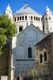 Abbotskloster av Dormitionen av oskulden Mary Monastery, montering Z Arkivbild