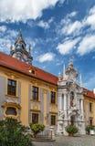Abbotskloster av Durnstein, Österrike Fotografering för Bildbyråer