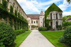 Abbotskloster av Fontenay Arkivfoton
