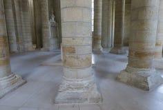 Abbotskloster av Fontevraud Arkivbilder