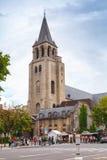 Abbotskloster av Helgon-Germain-des-Pres, Paris Arkivbild