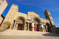 Abbotskloster av Helgon-Gilles, Provence Royaltyfri Foto