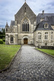 Abbotskloster av Helgon-Sauveur-le-Vicomte, Normandie, Frankrike Fotografering för Bildbyråer
