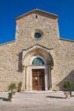 Abbotskloster av Madonna del Casale. Pisticci. Basilicata. Italien. Royaltyfri Fotografi