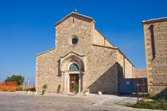 Abbotskloster av Madonna del Casale. Pisticci. Basilicata. Italien. Royaltyfria Foton