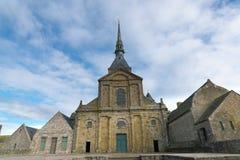 Abbotskloster av Mont-Helgon-Michel Arkivbild
