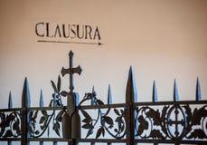 Abbotskloster av Monte Oliveto Maggiore Arkivfoto