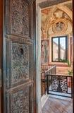 Abbotskloster av Monte Oliveto Maggiore Royaltyfria Bilder