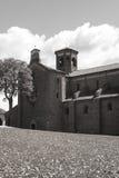 Abbotskloster av Morimondo (Milan) Arkivfoton