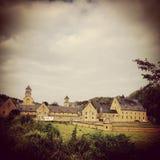 Abbotskloster av Orval Arkivbild