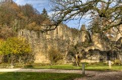 Abbotskloster av Orval i Belgien Royaltyfria Bilder