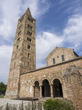 Abbotskloster av Pomposa, Codigoro Royaltyfri Foto