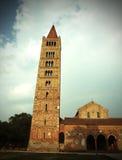 Abbotskloster av Pomposa i centrala Italien Arkivbild