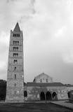 Abbotskloster av Pomposa i den Emilia Romagna regionen i Italien Royaltyfri Foto