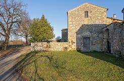 Abbotskloster av S Maria Assunta Royaltyfri Fotografi