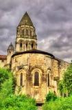 Abbotskloster av Sainte-Marie-des-Dames i Saintes Arkivfoto