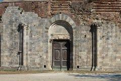 Abbotskloster av San Galgano Royaltyfria Foton
