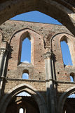 Abbotskloster av San Galgano Royaltyfria Bilder