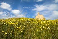 Abbotskloster av San Mauro i Salento- Italien Royaltyfri Bild