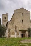 Abbotskloster av Sant Antimo, Italien Arkivbild