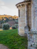 Abbotskloster av Sant& x27; Antimo Montalcino Royaltyfri Fotografi