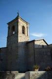 Abbotskloster av Santa Croce i Sassovivo Foligno, Italien Arkivbild