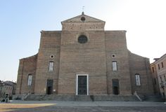 Abbotskloster av Santa Giustina Royaltyfria Bilder