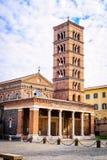 Abbotskloster av Santa Maria i Grottaferrata Royaltyfria Bilder