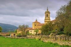 Abbotskloster av Santo Domingo de Silos, i nordliga Spanien Royaltyfria Bilder