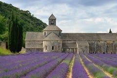 Abbotskloster av Senanque Royaltyfria Bilder
