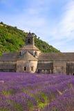 Abbotskloster av Senanque Arkivbild