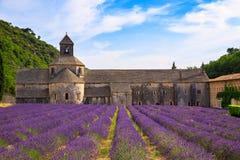Abbotskloster av Senanque Fotografering för Bildbyråer