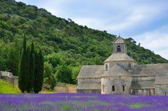 Abbotskloster av Senanque, Frankrike Arkivbild