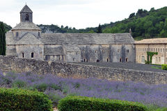 Abbotskloster av Senanque i Provence, Frankrike Arkivbilder