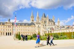 Abbotskloster av St Etienne, Caen Royaltyfri Bild
