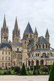 Abbotskloster av St Etienne i Caen Arkivbilder