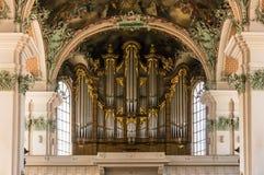 Abbotskloster av St-fräckhet - Roman Catholic Cathedral UNESCOvärldsH Royaltyfri Foto