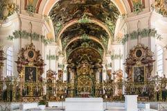 Abbotskloster av St-fräckhet - Roman Catholic Cathedral UNESCOvärldsH Royaltyfri Bild
