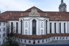 Abbotskloster av St Gallen på Schweiz Arkivfoton
