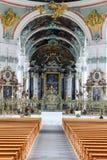 Abbotskloster av St Gallen på Schweiz Royaltyfri Foto